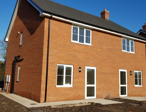 T C Homes at Bomere Heath Shrewsbury.
