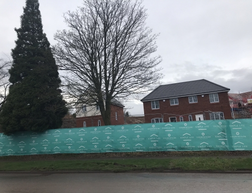 Prestige Brickwork Starts work on Countryside Properties site in Trench