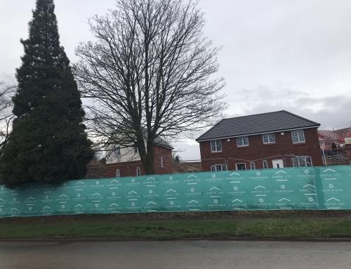 Prestige Brickwork Starts work on Countryside Properties site in Trench