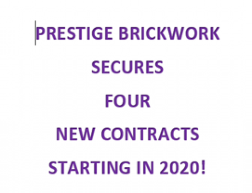 Prestige Brickwork Secures Four New Contracts all starting before 2021!