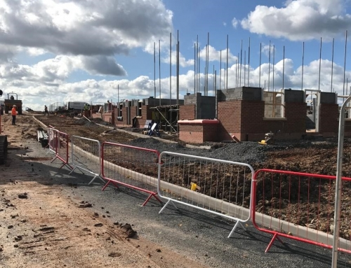Prestige Brickwork start construction on Phase Two of Miller Home project at Tudor Park in Shrewsbury