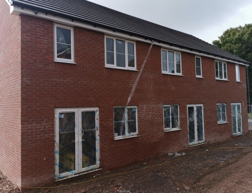 Prestige Brickwork building new Homes for TC Homes at Bushbury